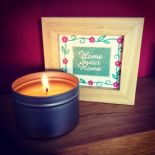 *NEW* Pomegranate Noir - Soy Wax Candle in Tin 200ml